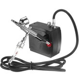 AC100-240V Airbrush Spray Gun Air Compressor Kit Tattoo Manicure Craft Cake Spray Model Air Brush Nail Tool Set