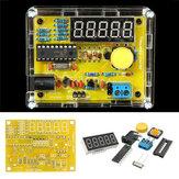 3pcs testador de frequência contra 1Hz-50MHz cristal metros DIY com kit de habitação