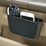 Draagbare Plastic Car Storage Box Car Seat Gap Pocket Phone Holder Organizer