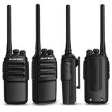 BAOFENG BF-C3 5W 2800mAh talkie-walkie 400-470MHz 1-3km 16 canaux double Bande Radio portative bidirectionnelle Chargement USB pour interphone de randonnée en plein air