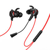 Baseus GAMO H15 3.5mm Wired Control Earphone HiFi Stereo Gaming Headphone with Dual Mic