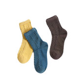 [FROM ] Women's Wool Sock Thickening Breathable Keep Warm Casual Sports Winter Socks socks
