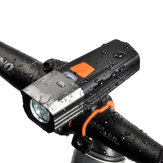 XANES® XL35 900 Lumens Bicycle Headlight USB Rechargeable 5 Modes Waterproof Bike Light