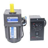 220 V 15 W AC Dişli Motor Hız Kontrol 1:10 125 RPM Elektrikli Motor Değişken Hız Kontrol