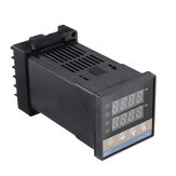 REX-C100 Digital RKC PID Thermostat Temperature Controller 0 To 400 Degree K Type Relay Output