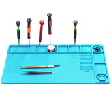 Soldering Mat Phone Repair Desk Pad Maintenance Station Magnetic Heat Insulation