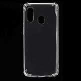 Bakeey Air Cushion Corner Transparent Shockproof Soft TPU Protective Case for Samsung Galaxy A40 2019