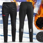 Heren Dames Thermische Fleece Winter Racing Broek Sportkleding Reflecterende broek Waterdicht