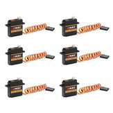 6PCS EMAX ES3352 12.4g Mini Metal Gear Digital Servo voor RC-vliegtuig