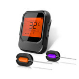 Wireless Bluetooth BBQ Thermometer Grill Meat Cooking 6 Probes For IOS Android