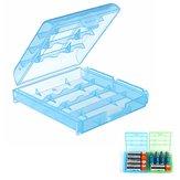 AAAAA電池のためのプラスチック電池の箱電池カバー予備品のホールダーの収納箱の容器