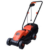 BODA 110V 1200W Electric Lawn Mower Hand Push Gardening Grass Trimmer Weeding Machine