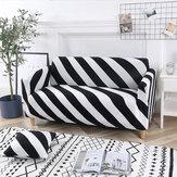 Capa elástica para sofá de 2/3 lugares Protetor de assento para cadeira Sofá elástico Caso Cobertura deslizante para móveis e decoração