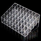 40 Clear Acryl Lippenstift Halter Stand Display Kosmetik Make-Up Fall Acryl Cosmetic Organizer