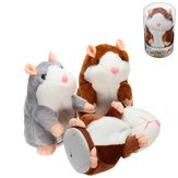 Banggood Mimicry Talking Hamster Pet 15cm Kerstcadeau Knuffel Cute Speak Sound Record Knuffeldier Toy