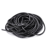Balck 6mm 13.5M Length PE YL692 Flexible Spiral Wrapping Wire Hiding Cable Sleeves for 3D Printer