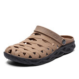Men Breathable Hollow Casual Daily Soft Walking Beach Sandals