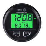 60mm GPS Speedometer Gauge Odometer LCD Digital Dust-Proof Kmh For Car Motorcycle ATV Marine Boat Truck