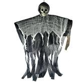 1 ADET 90x100cm Cadılar Bayramı Kafa Tası Asılı Hayalet Sahne Dekorasyon Sahne