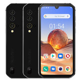 Blackview BV9900E Global Bands IP68 / IP69K 5,84 polegadas FHD + NFC Android 10 4380mAh 48MP Quad Rear Camera 6GB 128GB Helio P90 Smartphone 4G