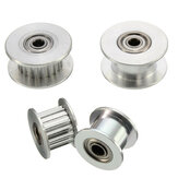 16T/20T GT2 Aluminum Timing Pulley With/Without Tooth For DIY 3D Printer Part