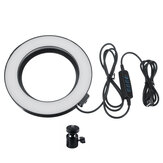 16cm 3200K-5500K dæmpbar LED Fill Light Fotografering Ringlys til video Live Blogger Photography Tiktok