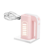 PINK BUNNY PB-8812 Kitchen 30W Electric Wireless Egg Beater Household Portable Mini Egg Cream Bread Baking Mixer