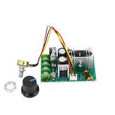 DC 10-60V 20A 1200W motor Control de velocidad PWM motor Interruptor del controlador de velocidad 20A Módulo regulador de corriente de alta potencia