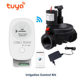 Bakeey Tuya WiFi remoto APP Controllo Intelligent Irrigation Controller Irrigazione automatica Timear Water Value Controller Valvola elettronica a 1 via per Smart Home