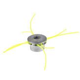 Tête de coupe-herbe universelle en aluminium avec tête de coupe-brosse à 4 lignes pour tondeuse à gazon