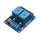 Déclencheur de niveau haut et bas de module de relais du canal 5V de BESTEP 2 pour Auduino