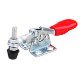 Drillpro 4Pcs GH-201-A Quick Release Hand Tool 27kg Holding Capacity Horizontal Hold Type Toggle Woodworking Clamp