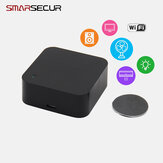 SMARSECUR Tuya Smart Home Controller Universal WiFi Infrared Controle Remoto Work with Smart Life APP