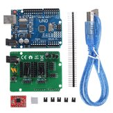 Geekcreit® UNO R3 Board ZUM Scan Shield Expansion Open Source Kit For DIY Ciclop 3D Printer Scanner