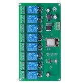 5 В / 7-28 В источник питания 8 каналов ESP8266 WIFI 8-позиционный релейный модуль ESP-12F Совет по развитию Вторичная плата развития