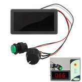 DC 6V/12V/24V 6A/8A PWM Motor Speed Controller Digital LED Display Variable Speed Regulator With IR Remote Controller