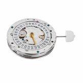 SH3135 Mechanizm automatycznego zegarka z grawerowaną niebieską sprężyną balansową dla szwajcarskiego zegarmistrza
