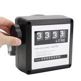 120l / دقيقة 4 رقمي الديزل وقود النفط متر عداد الديزل البنزين البنزين النفط مقياس الجريان مقياس