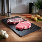 Fast Defrosting Tray Defrost Meat Thaw Frozen Food Magic Kitchen Ontdooibord