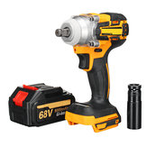 88V 1500mAh Cordless Electric Wrench Lithium-Ion Brushless Motor Impact Wrench