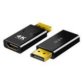 Adaptér video kabelu Jinghua DP Male to HD Converter Video Cable 4K 1080P Podpora HD Rozšíření pro projektor pro laptop