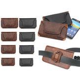 Deri Bel Çanta Kart Cep Telefonu Depolama Kapak Çanta Su Geçirmez Taktik Çanta XS XR XSMAX 5.1