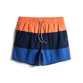 Мужские шорты с быстросохнущим шнурком на талии Пляжный