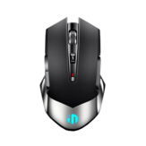 Inphic M606 2.4G Wireless Rechargeable Mouse 1600DPI Ergonomic Power Saving 7-color Breathing Backlight Office Gaming Mouse