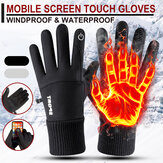 Winter Warm Waterproof Windproof Anti-Slip Touch Screen Outdoors Motorcycle Riding Gloves