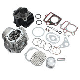 Silindir Motor Motor Yeniden inşa Kit için Honda ATC70 CT70 TRX70 CRF70 XR70 70cc