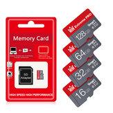 MicroDrive Memory Card TF Micro SD Card High Speed Class10 16GB 32GB 64GB 128GB 256GB Type-C Leitor de cartão com adaptador SD para celular com câmera drone