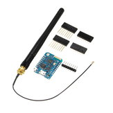 3Pcs WeMos® D1 Mini Pro-16 Module + ESP8266 Series WiFi Wireless Antenna