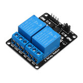 3pcs 2 Channel Relay Module 12V with Optical Coupler Protection Relay Extended Board Geekcreit for Arduino - products that work with official Arduino boards