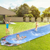 600*103cm Giant Surf Lawn Summer Pool Water Play Slide Ladder For Children To Surf Outdoor Toys